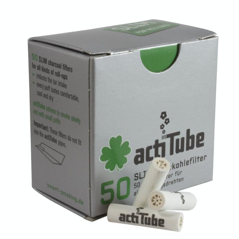 Filtros Actitube Slim 50 unidades