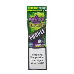 Juicy Hemp Wraps Purple - Sativagrowshop.com