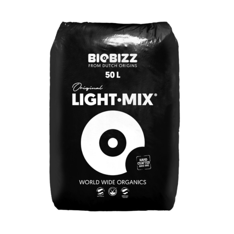 Light mix 50L Bio Bizz - Sativagrowshop.com