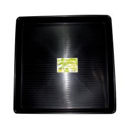 Bandeja lisa negra 100 x 100cm