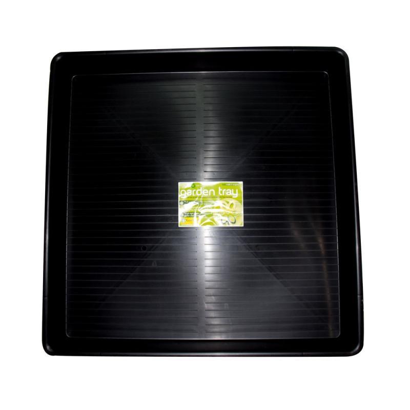 Bandeja lisa negra 100 x 100cm - Sativagrowshop.com