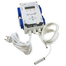Controller 16A temperatura, humedad y presión negativa (sin USB) - Sativagrowshop.com