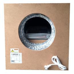 Caja extracción Softbox MDF 2500m³ Airfan - Sativagrowshop.com