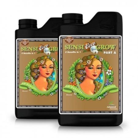 Sensi Grow Coco A + B Advanced Nutrients - Sativagrowshop.com