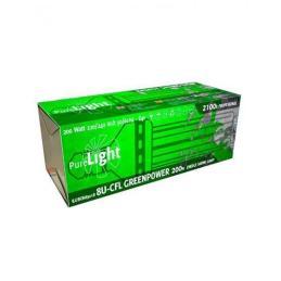 BOMBILLA PURE LIGHT CFL 200 W GREENPOWER (2700K-6400K) - Sativagrowshop.com