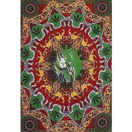 Cubre Cama Bob Marley Smoking - Sativagrowshop.com