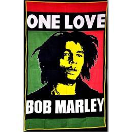 Bandera Bob Marley One Love - Sativagrowshop.com
