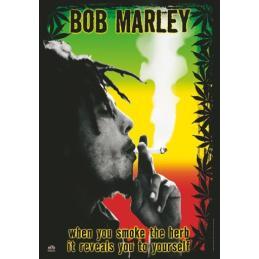 Bandera Bob Marley Smile Jamaica - Sativagrowshop.com