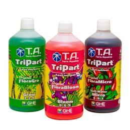 TRIPART® (Flora Series®) Agua Blanda - Terra Aquatica - Sativagrowshop.com