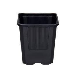 Maceta 7x7x8 (0,40L) Negra...