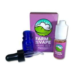 Farm To Vape Diluyente Uva Kit 10ml