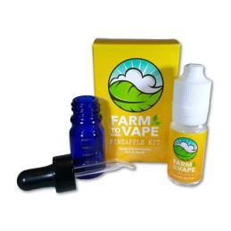 Farm To Vape Diluyente Piña Kit 10ml