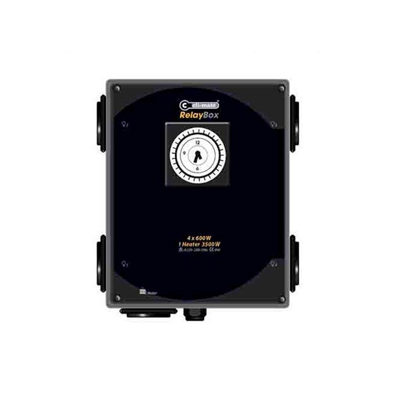 Temporizador Cli-mate 4 x 600 w + calefacción
