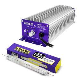 Kit LEC Lumatek 630 W - 3100K Controlable & Regulable