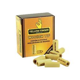 Filtro Yellow Finger Madera Small 15x6 mm. 10 tips.