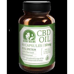 Aceite de CBD - 10 mg - 60 cápsulas