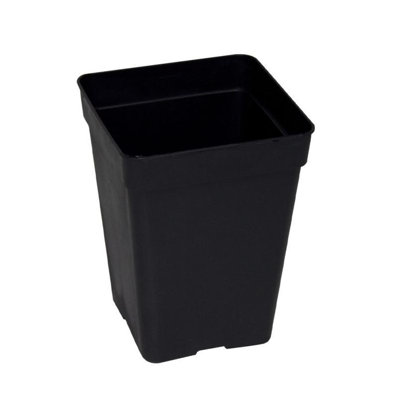 Maceta 15x15x19,5 (3,5L) Negra