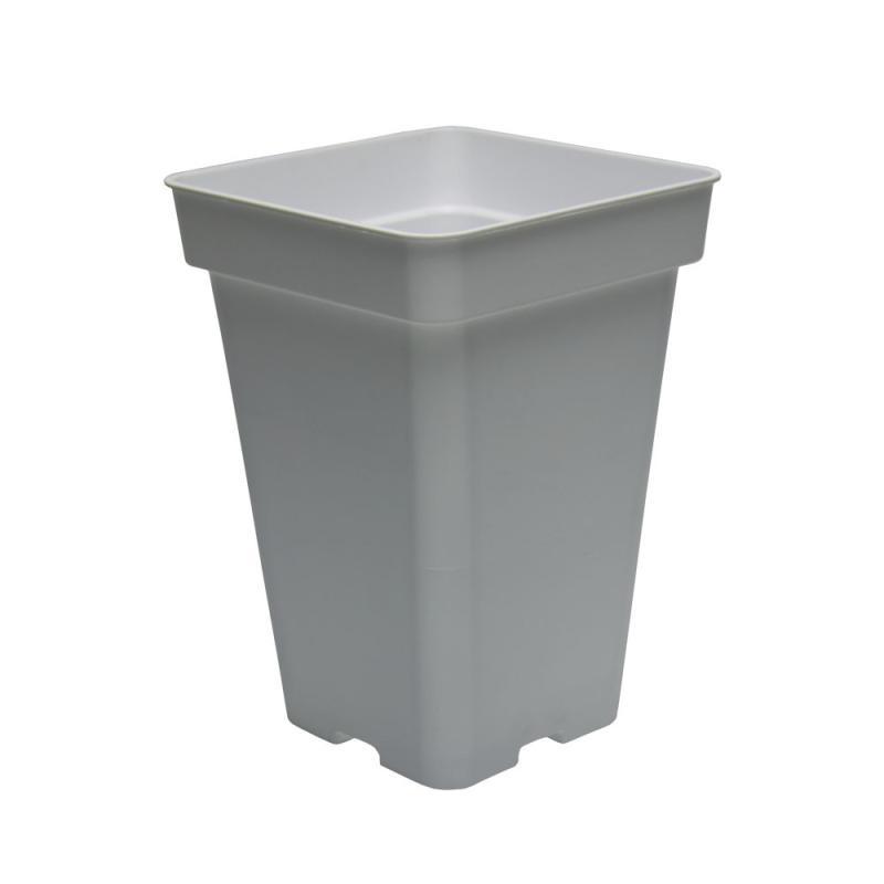 Maceta 18x18x25,5 (5,5L) Blanca