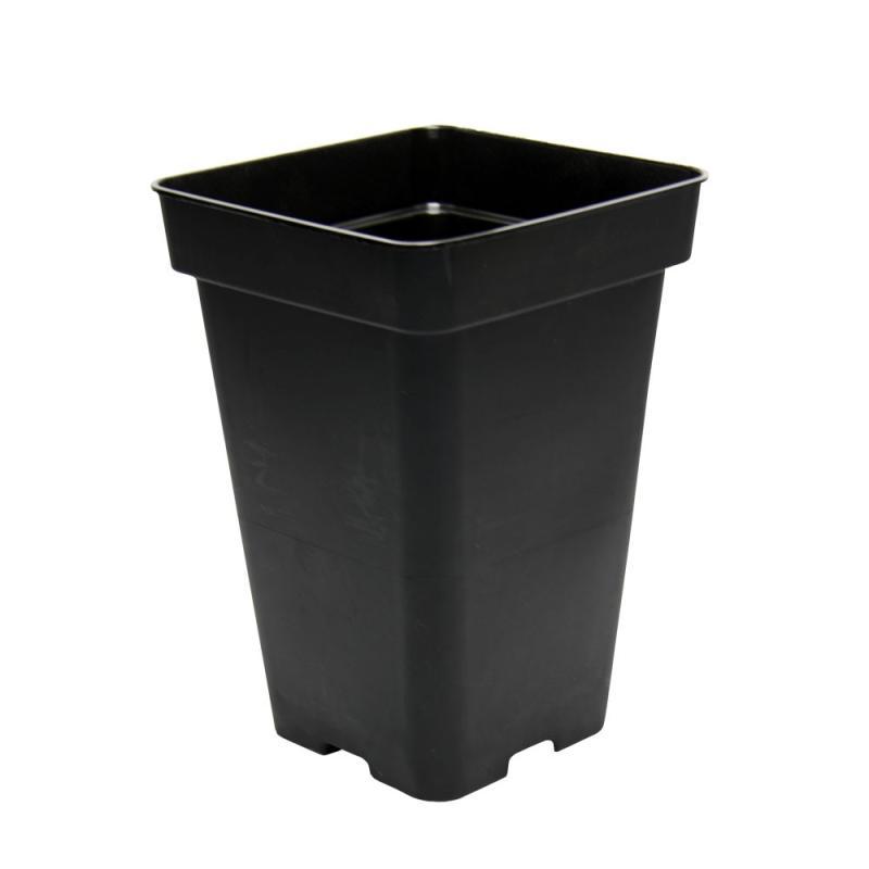 Maceta 18x18x25,5 (5,5L) Negra