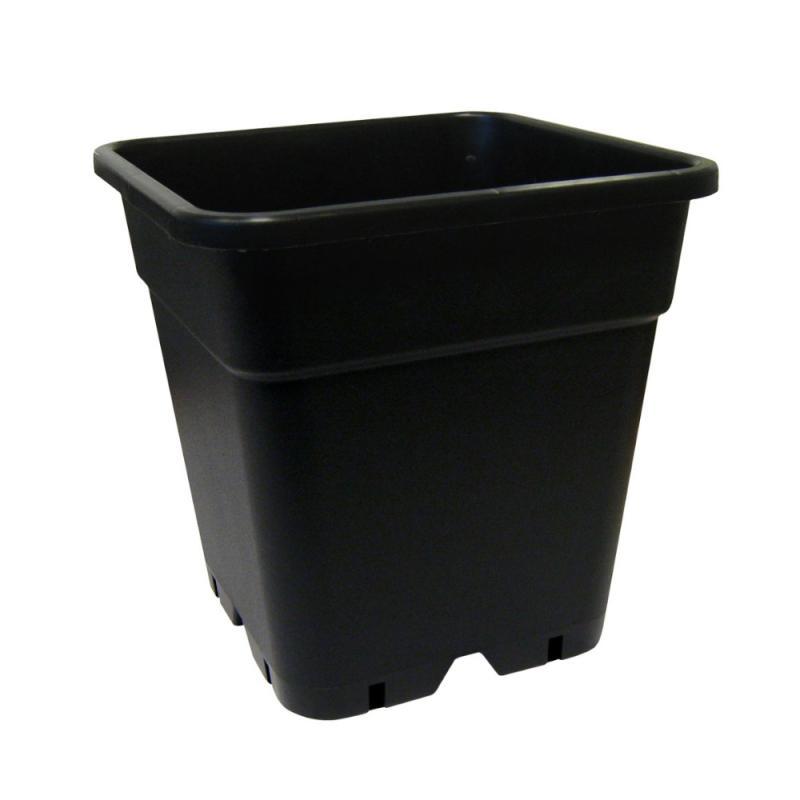 Maceta  20x20x27,5 (7L) Negra Reforzada