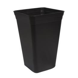 Maceta 26x26x40,5 (18L) Negra