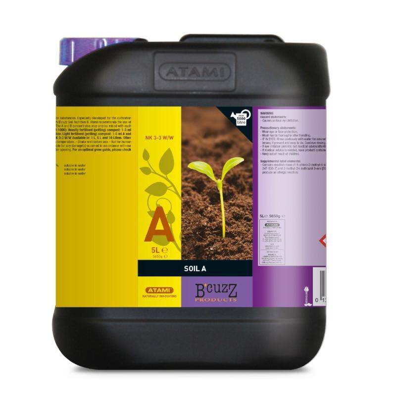 Tierra Soil A 5L Atami - Sativagrowshop.com