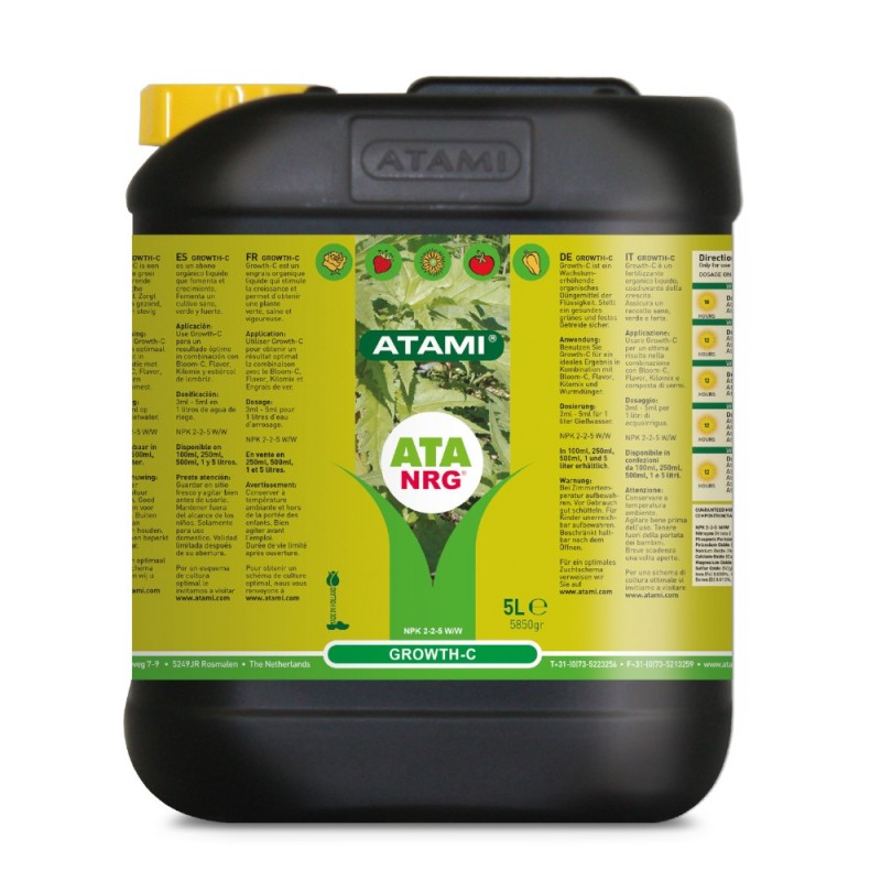 Organics Growth-C 5L Atami - Sativagrowshop.com