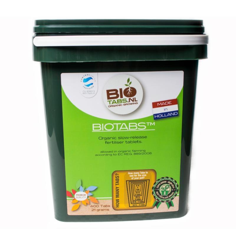 Biotabs tabletas 400uds Bio Tabs - Sativagrowshop.com