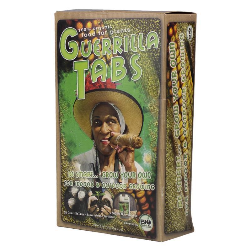 Guerrilla Box Bio Tabs - Sativagrowshop.com