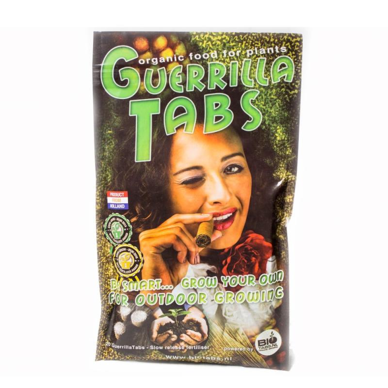 Guerrilla Tabs 20 piezas Bio Tabs - Sativagrowshop.com
