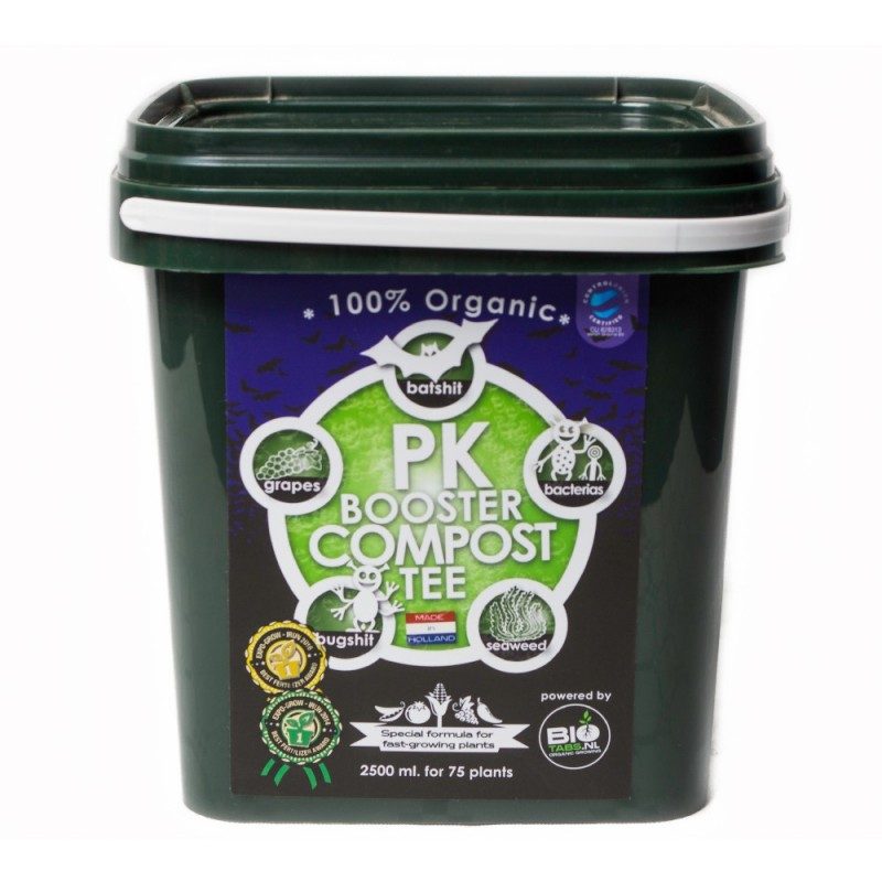 P/K Booster Compost Tea 2000g Bio Tabs - Sativagrowshop.com