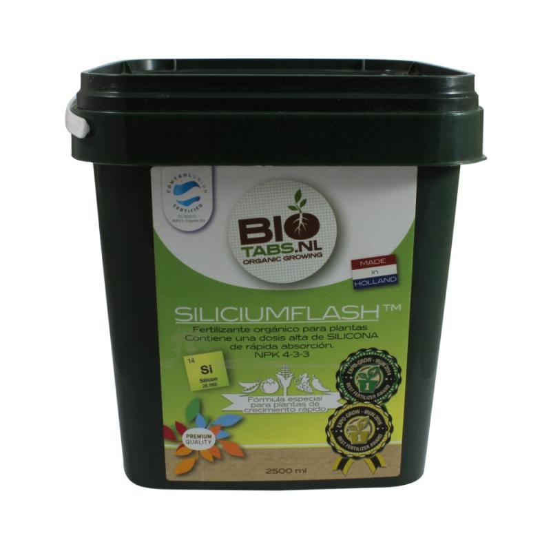 Silicium Flash 2500ml Bio Tabs - Sativagrowshop.com