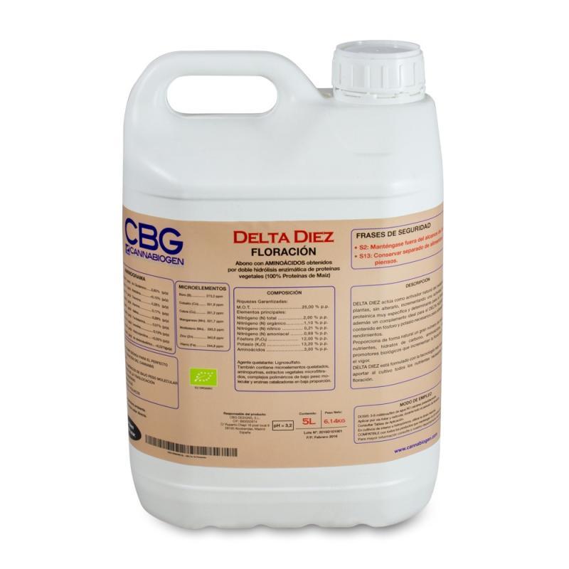 Delta 10 5L Bio Tka - Sativagrowshop.com