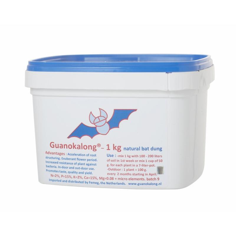 Guanokalong granuado 1kg