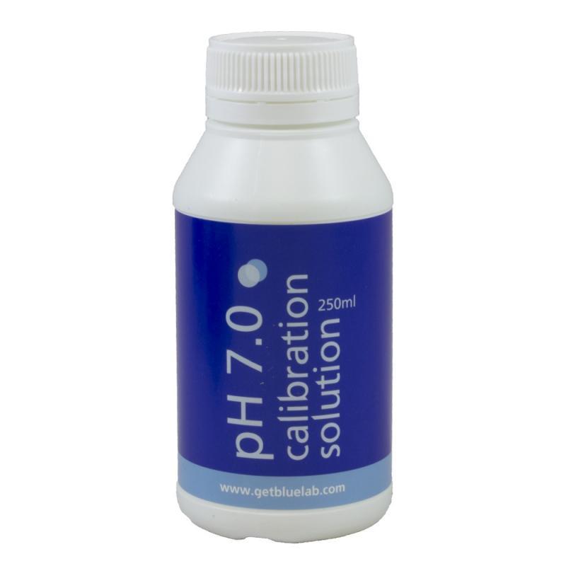 CAJA CALIBRACIÓN PH 7.0 BLUELAB (6 BOTES 250ML) - Sativagrowshop.com