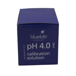 CAJA CALIBRACIÓN PH 4.0 BLUELAB (25 SOBRES 20ML) - Sativagrowshop.com