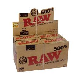 Raw 500 1.1/4 ( caja de 20...