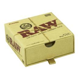 Papel Horno Raw 8 x 8cm 500uds - Sativagrowshop.com
