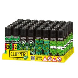 Caja Clipper Girl Weed 48 uds